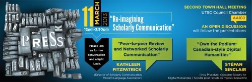 Re-Imagining Scholarly Communication